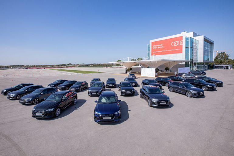 Zwycięzcy Ligi Mistrzów od teraz będą jeździć nowymi egzemplarzami Audi e-tron