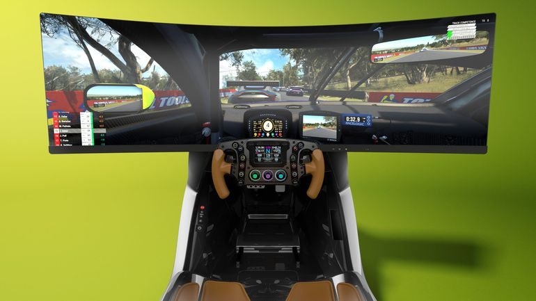 AMR-C01 – symulator wyścigowy od Astona Martina