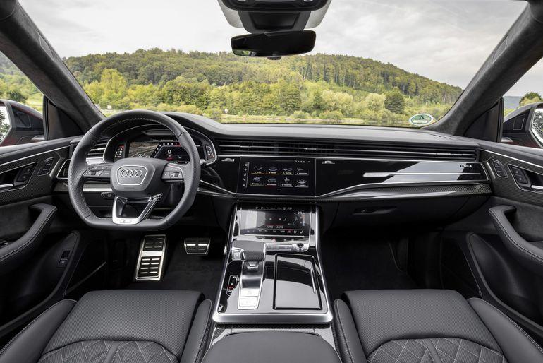 Odświeżone Audi SQ7 i SQ8 z silnikiem benzynowym V8 TFSI