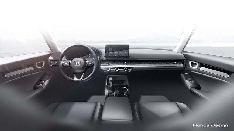 Honda Civic - wnętrze