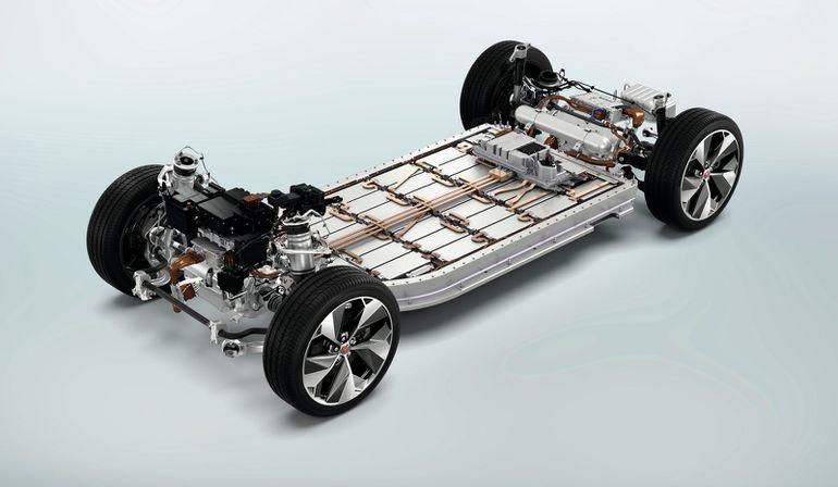 Tak wyglądają baterie w Jaguarze I-Pace