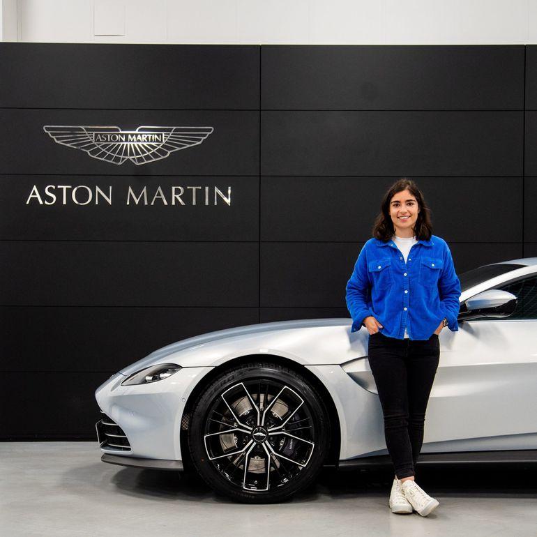 Jamie Chadwick została właścicielką Astona Martina Vantage Coupe