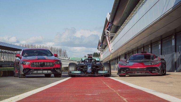 Formuła 1, AMG i E Performance: to przepis na sportową hybrydę