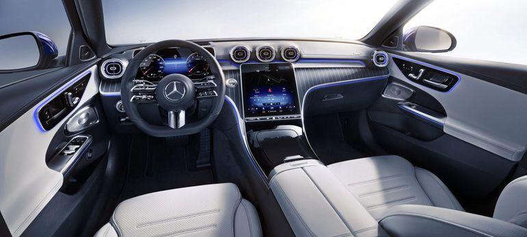 Nowy Mercedes Klasy C wyposażony jest w zawsze aktualną generację systemu MBUX