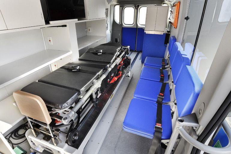 Mobilna klinika z elektrycznym napędem