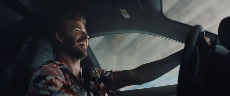 David Beckham został ambasadorem Maserati