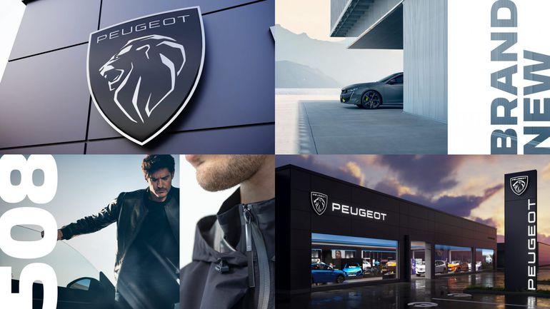 Peugeot prezentuje nowe logo