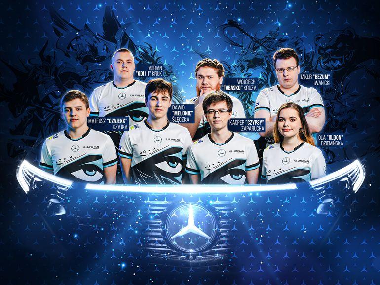 Mercedes wspiera polski e-sport