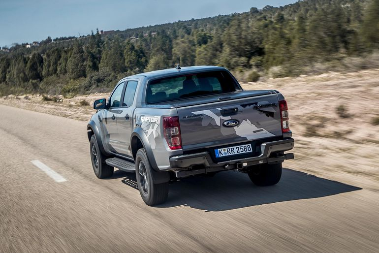 Ford Ranger w wersji cross country.
