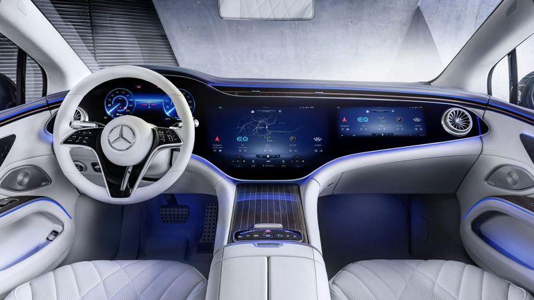 Mercedes EQS - wnętrze