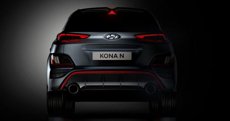 Hyundai Kona N na pierwszych zdjęciach. Zobaczcie, jak wygląda