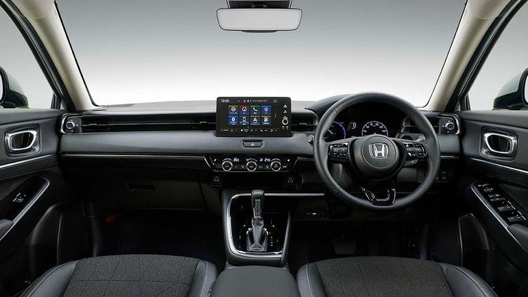 Honda HR-V - wnętrze