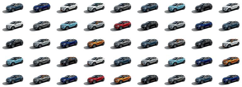 Renault i kolory to romans, który trwa od lat. Jaka przyszłość czeka kolory nadwozia?