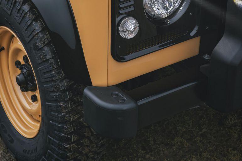 Klasyczny Land Rover Defender