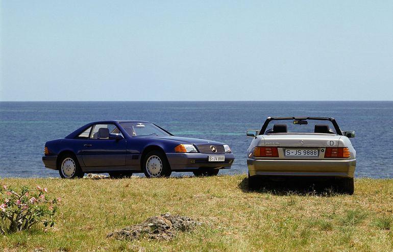 Mercedes-Benz SL – historia modelu z wyścigowym DNA