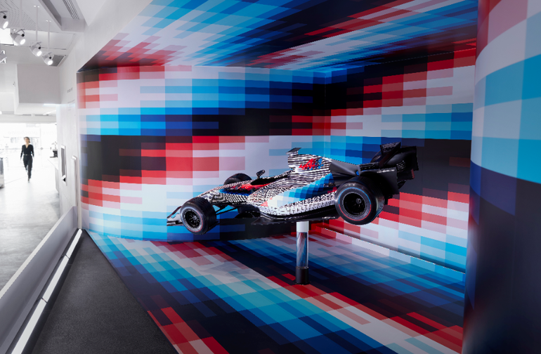 Bolid Alpine F1 x Felipe Pantone