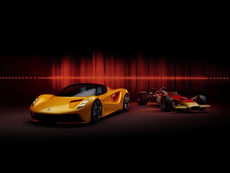 Lotus Evija & Lotus Type 49