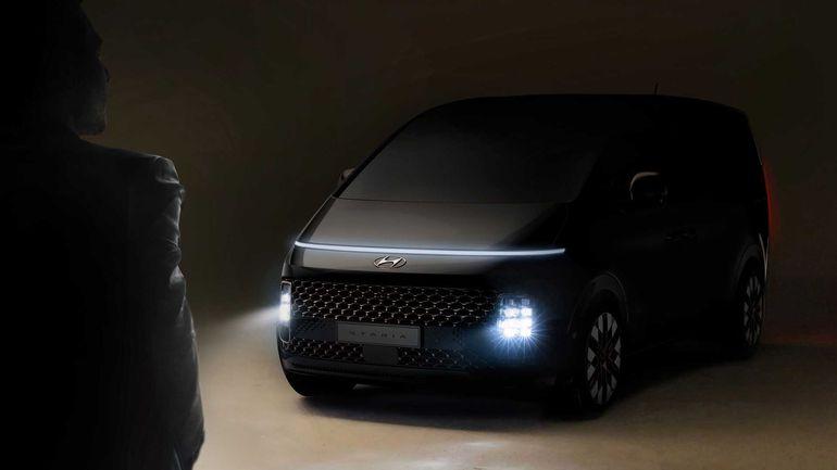 Hyundai Staria - minivan z przyszłości. Doskonałe auto do filmów science fiction?
