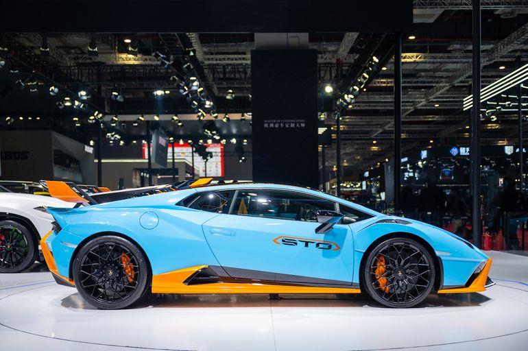 Lamborghini na Shanghai Auto Show 2021