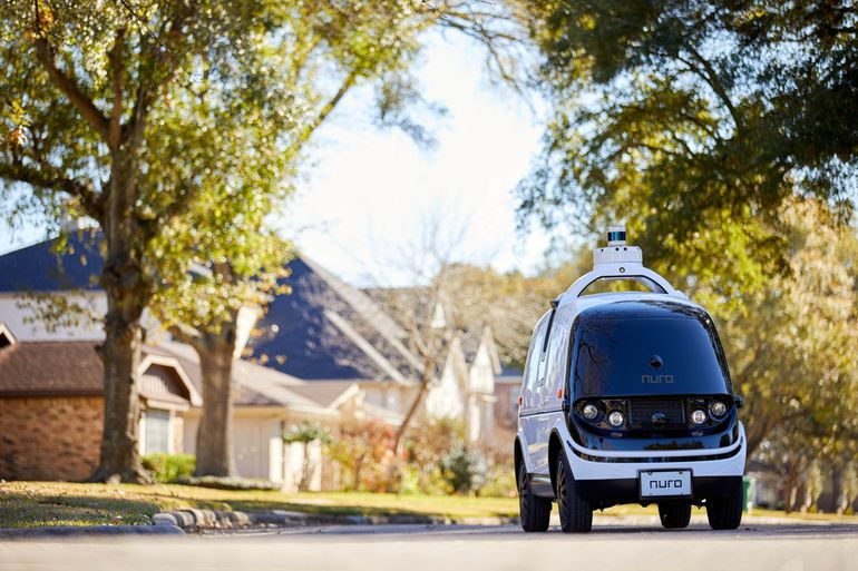 Autonomiczne pojazdy Nuro zastąpią... lokalnych kurierów?
