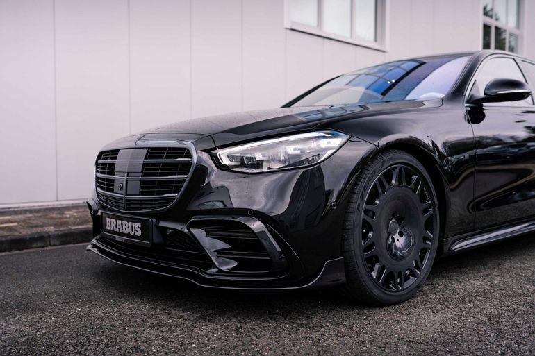 Brabus 500, czyli udoskonalony Mercedes-Benz Klasy S