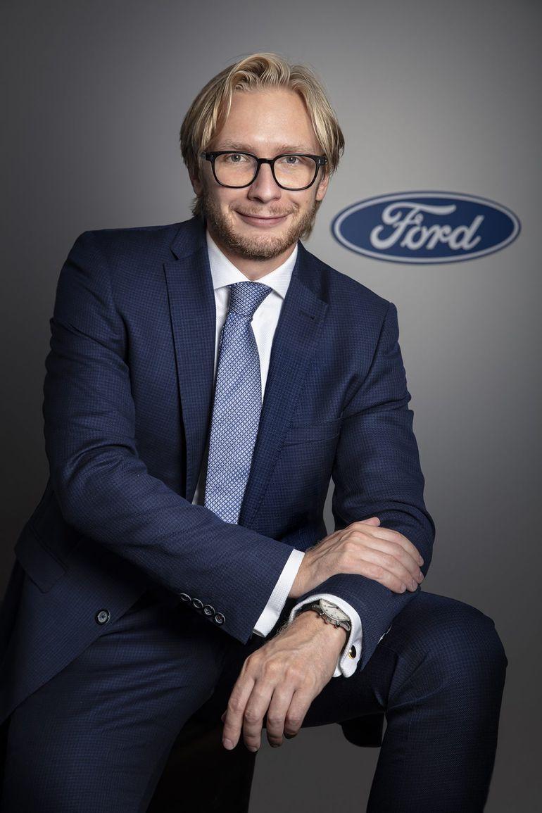 Piotr Pawlak - Prezes Zarządu i Dyrektor Zarządzający Ford Polska