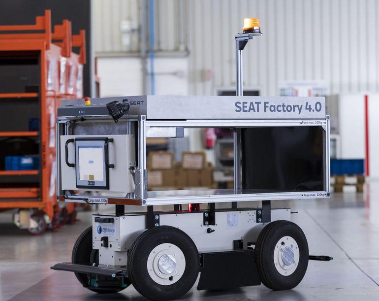 EffiBOT, autonomiczny robot