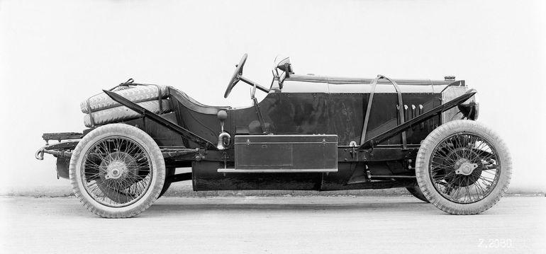 Mercedes 28/95 HP Sport, czyli wyścigowy sukces sprzed 100 lat z hamulcami wszystkich kół