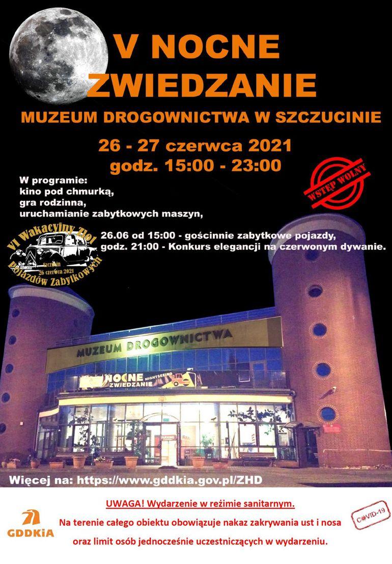 V Nocne Zwiedzanie Muzeum Drogownictwa