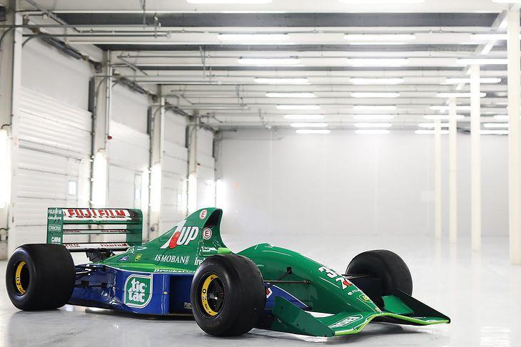 Bolid F1 Jordan 191