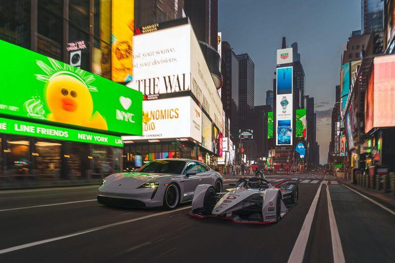 Porsche 99X Electric oraz Taycan 4S elektryzują Nowy Jork