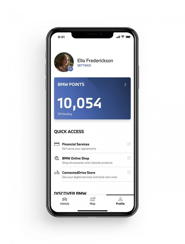 Nowe funkcje i treści w aplikacji My BMW