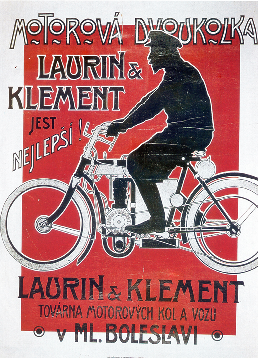Z Paryża do Berlina na motocyklach Laurin & Klement