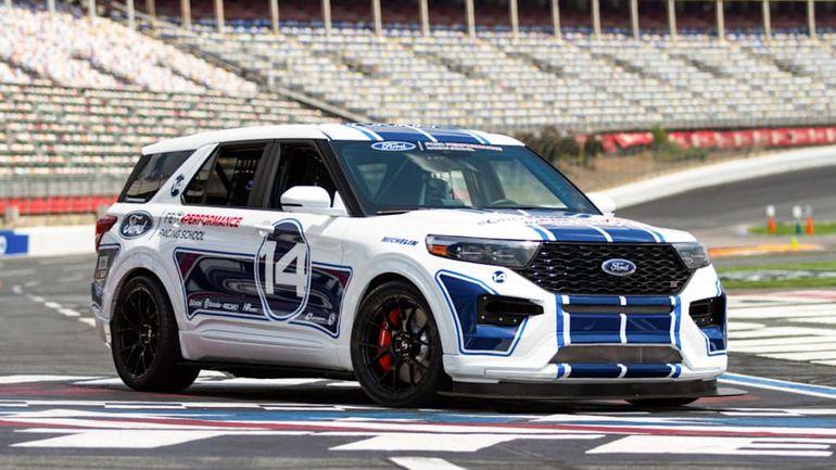 Ford zbudował wyjątkowego Explorera ST, który ma zostać nowym królem torów wyścigowych