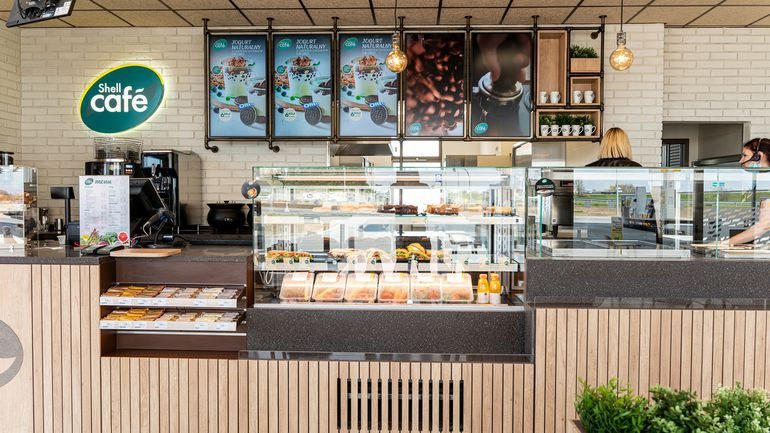 Shell wprowadza markę Shell Café