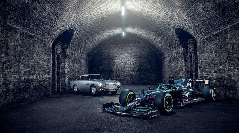 007 x Aston Martin Cognizant F1 Team