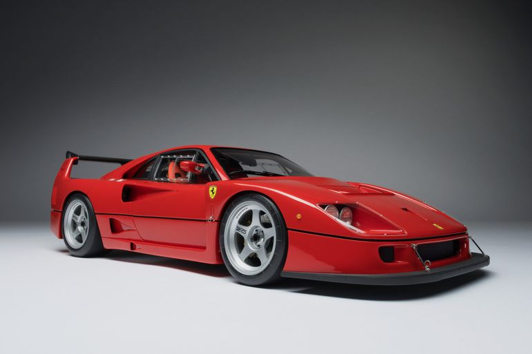 Ferrari F40 wykonane przez studio Amalgam