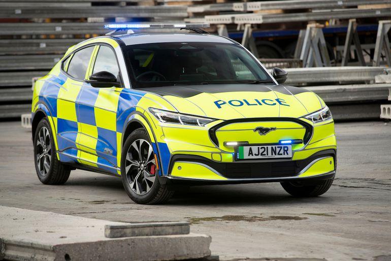 Ford Mustang Mach-E - elektryczny policyjny radiowóz