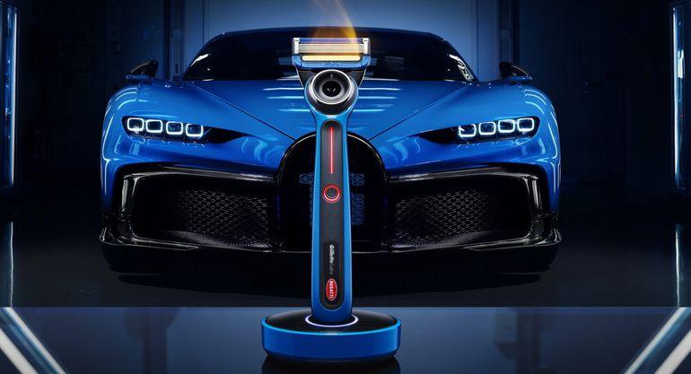 Maszynka do golenia od Bugatti