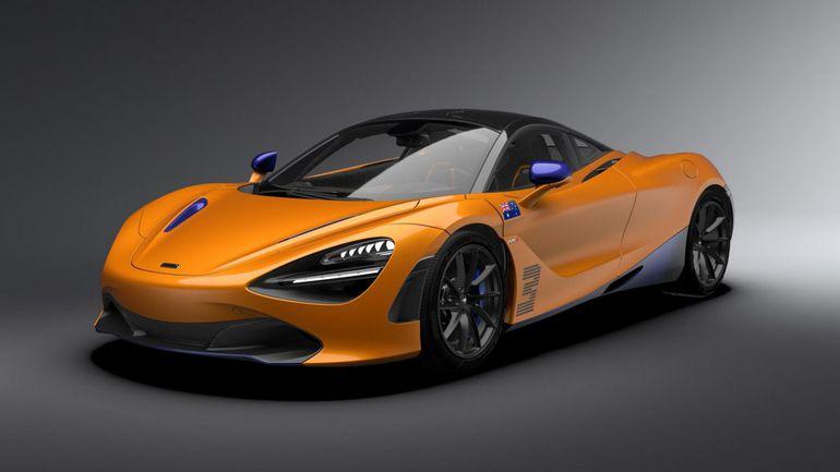 Specjalny McLaren 720s z okazji zwycięstwa w F1