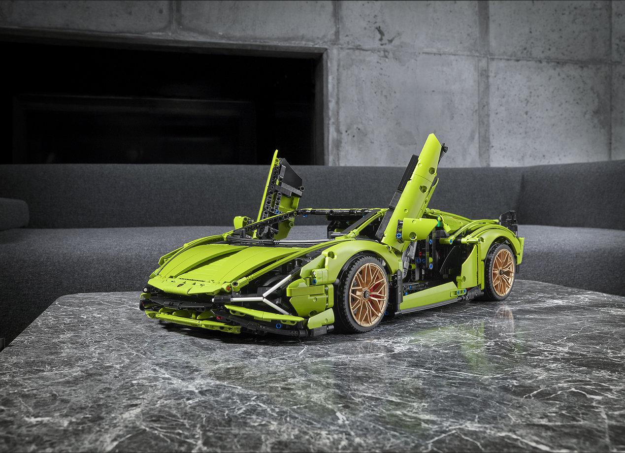 Lamborghini Sián z klocków LEGO