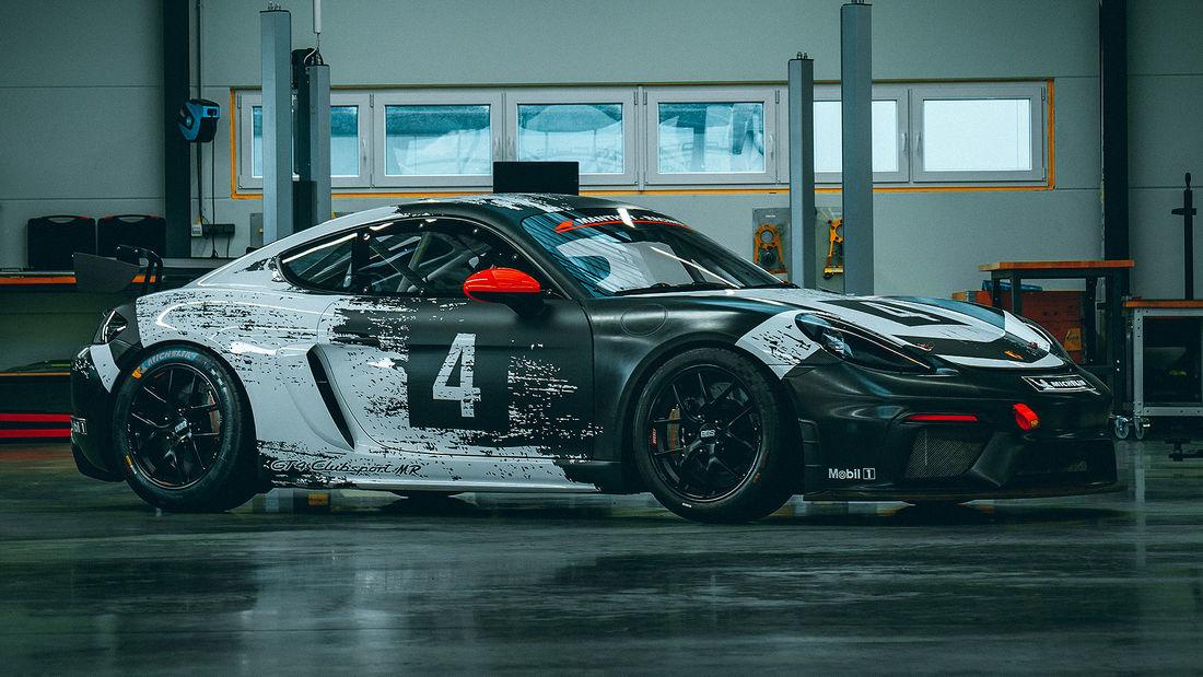 """Porsche 718 Cayman GT4 Clubsport - lżejsza i bezpieczniejsza """"zabawka"""" na tor"""