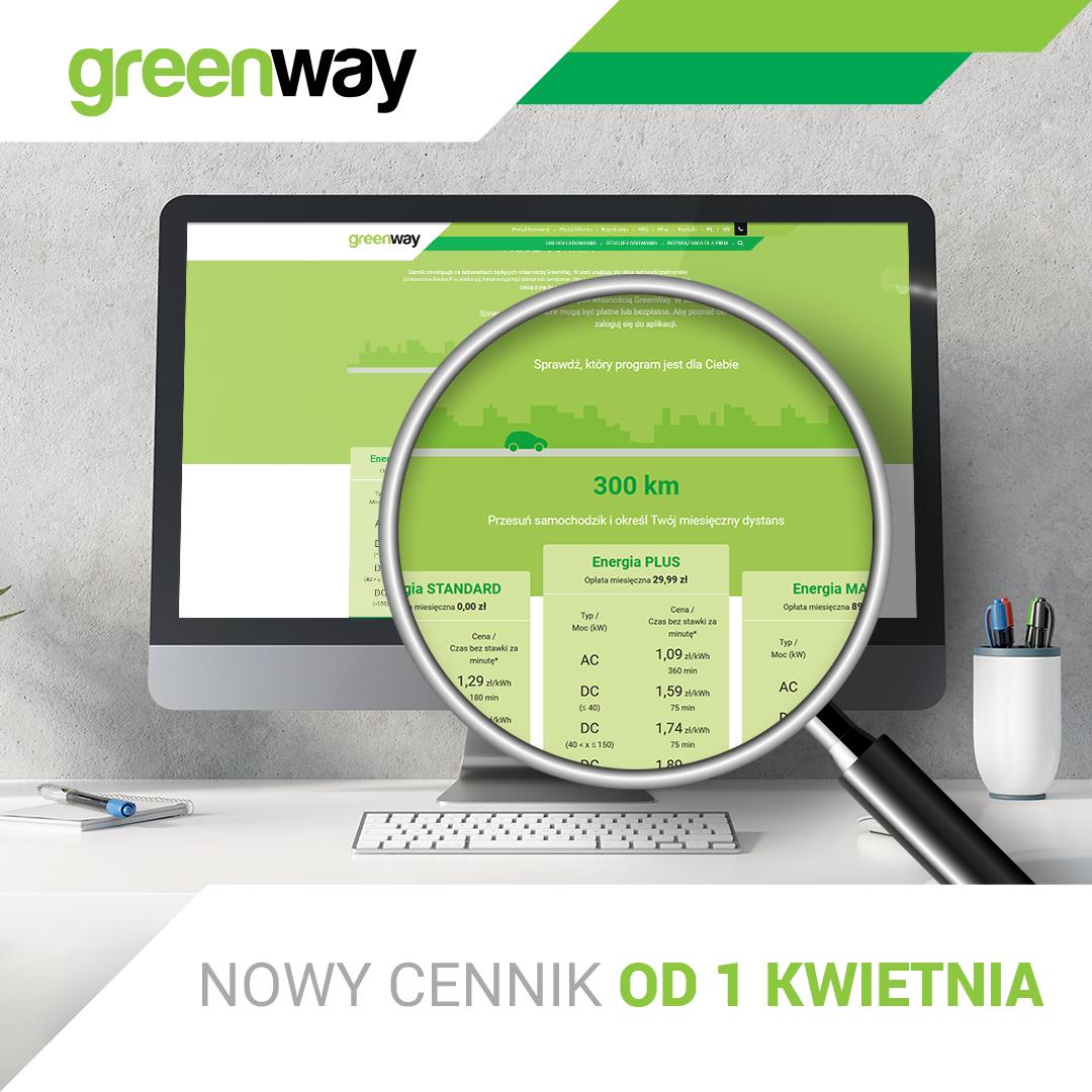 GreenWay Polska podnosi moc stacji i zmienia cennik! Właściciele elektryków mają się z czego cieszyć?