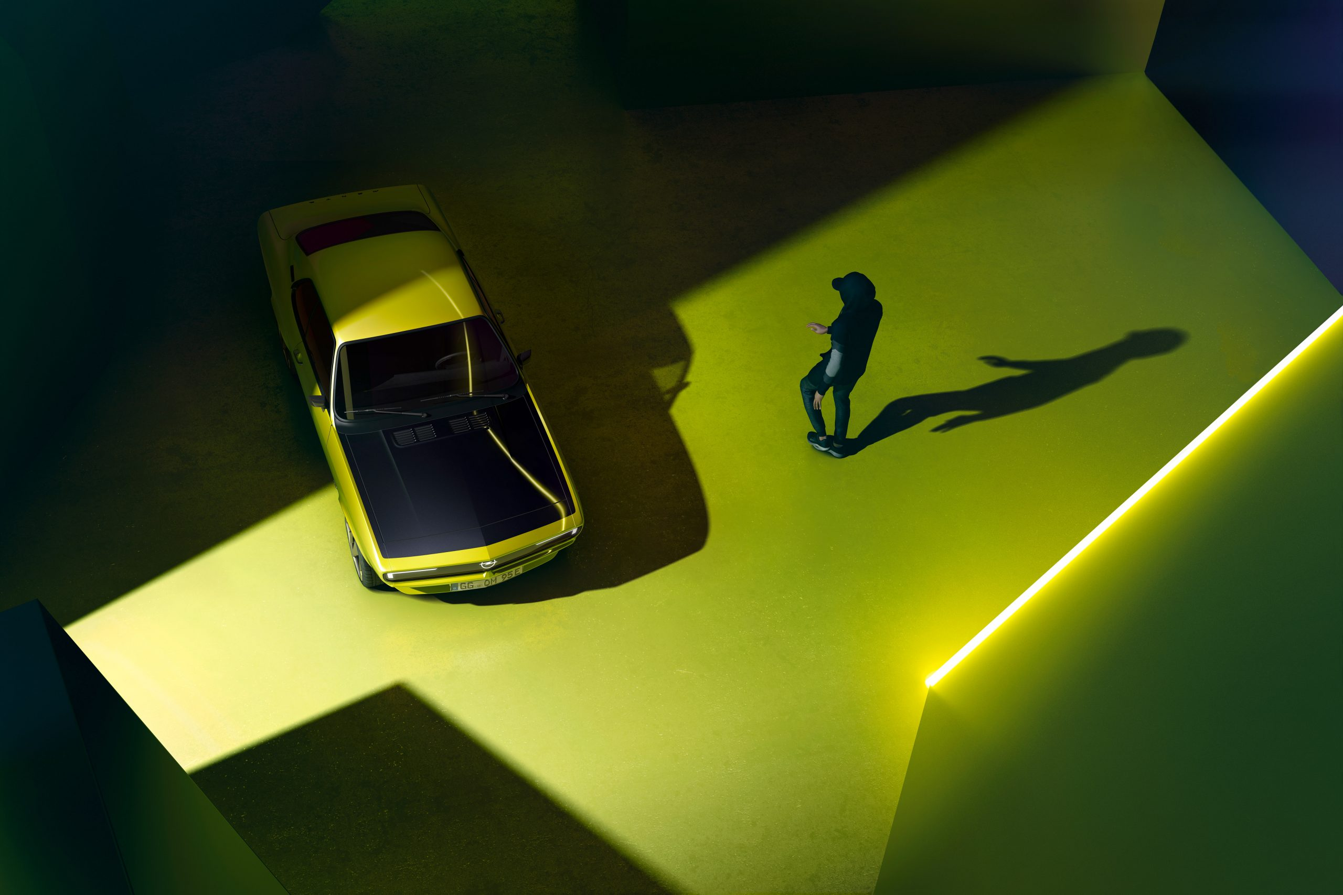 Opel Manta GSe ElektroMOD - retro pod napięciem