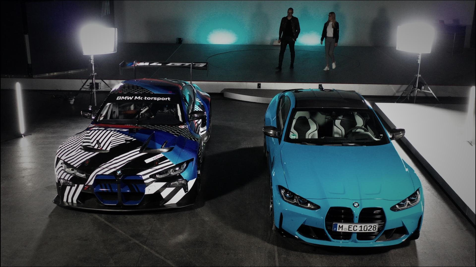 BMW M4 spotyka BMW M4 GT3