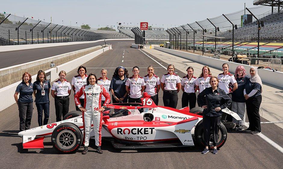 Kobiecy zespół wystartuje w Indianapolis 500