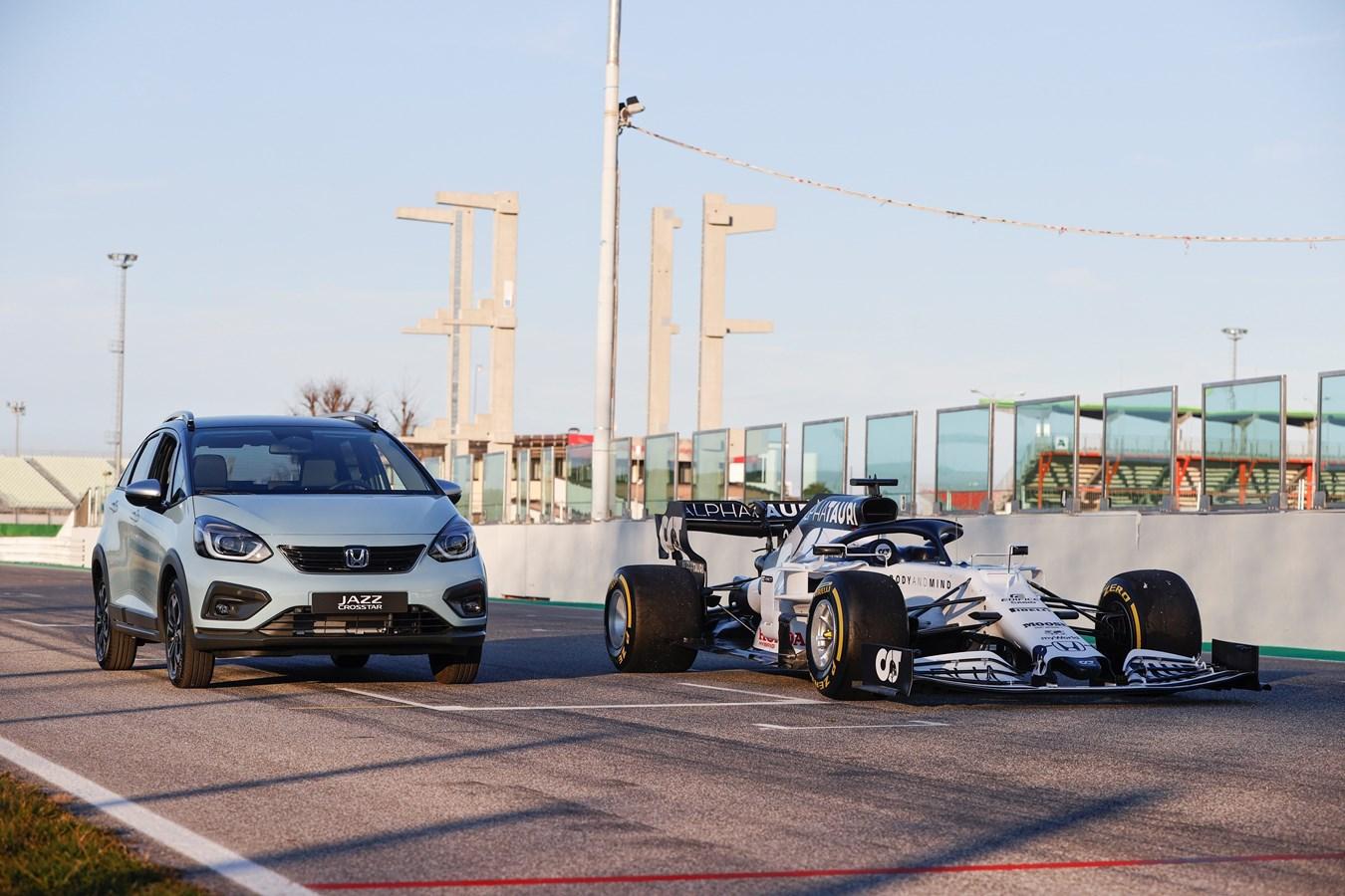 Co samochody Hondy mają wspólnego z bolidami Formuły 1?